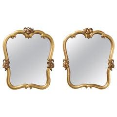 Austrian Giltwood Mirrors, circa 1930, Max Welz