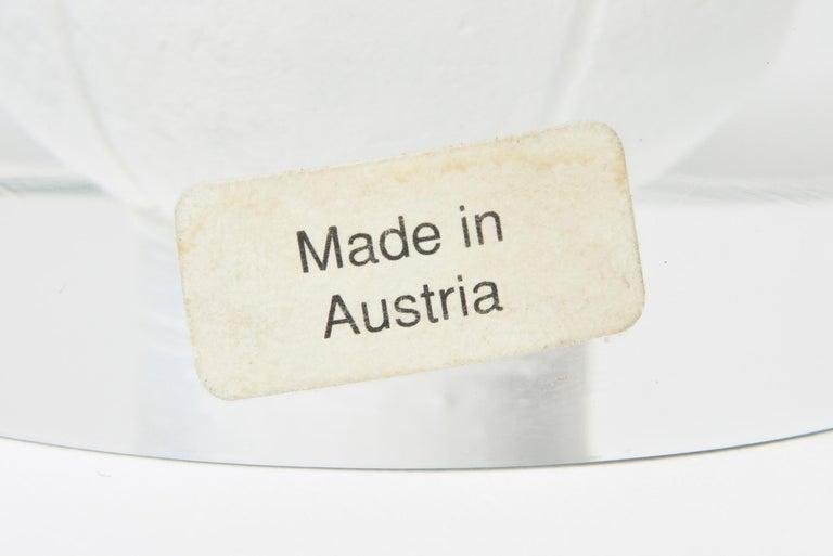 Austrian Glass Tennis Ball Paperweight Sculpture For Sale 3