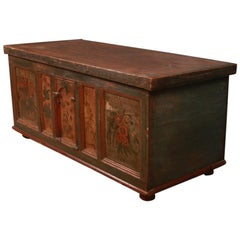 Austrian Marriage Storage Chest / Coffer