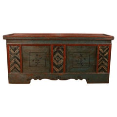 Austrian Marriage Storage Chest