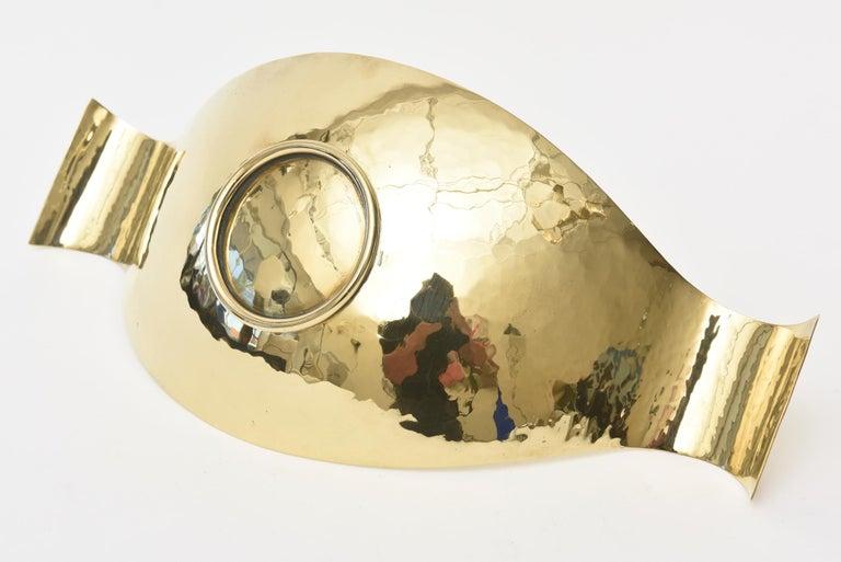 Werkstatte Hagenauer Austrian Brass Bowl Mid-Century Modern For Sale 6