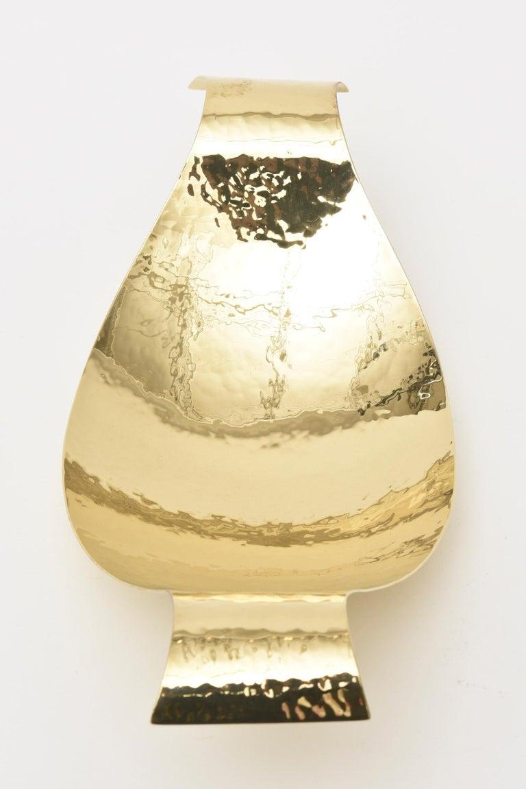 Werkstatte Hagenauer Austrian Brass Bowl Mid-Century Modern For Sale 2