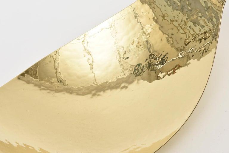 Werkstatte Hagenauer Austrian Brass Bowl Mid-Century Modern For Sale 3