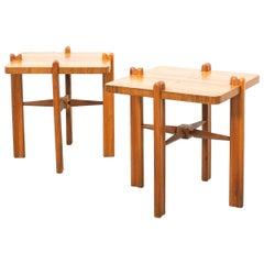 Austrian Side Tables, circa 1955
