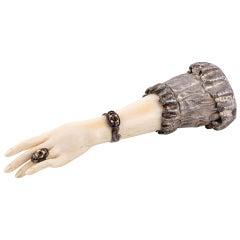 Austrian Silver-Mounted Desk Hand-Seal