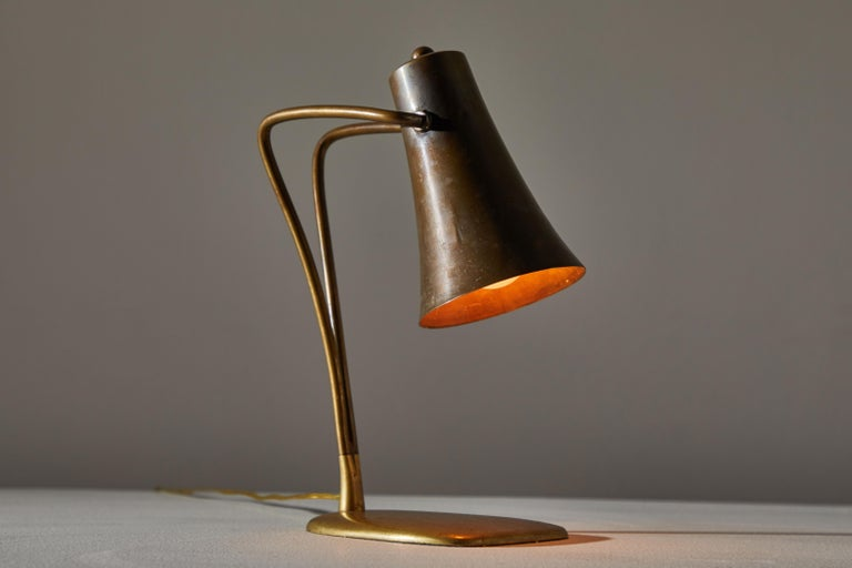 Mid-20th Century Austrian Table Lamp For Sale