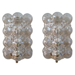Austrian Torchiere Bubble Sconces