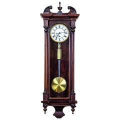 Austrian Wall Clock, circa 1850