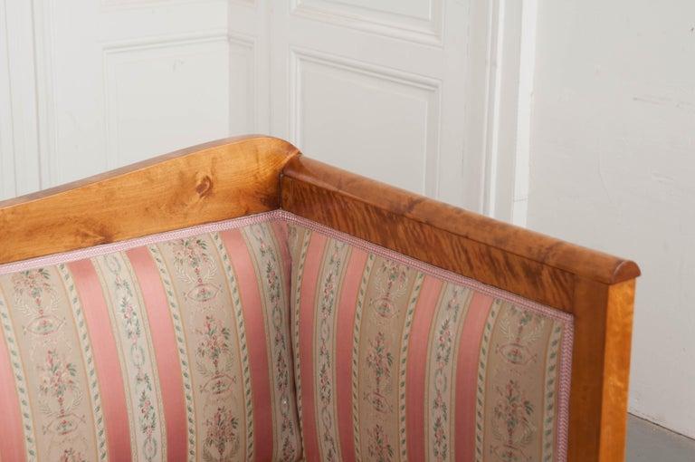 Austro-German 19th Century Biedermeier Sofa In Good Condition For Sale In Baton Rouge, LA