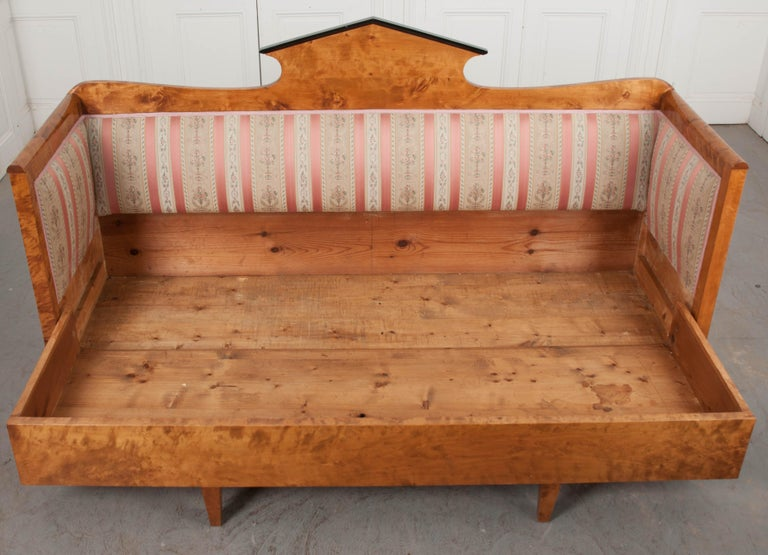 Austro-German 19th Century Biedermeier Sofa For Sale 1