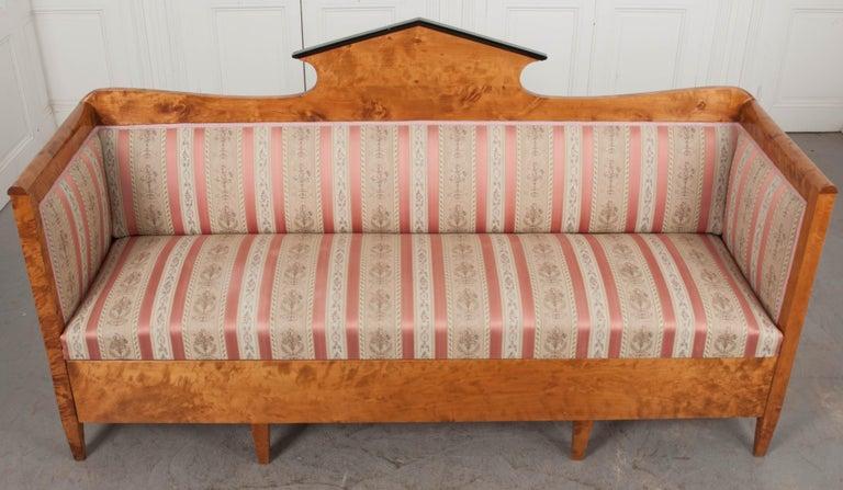 Austro-German 19th Century Biedermeier Sofa For Sale 2