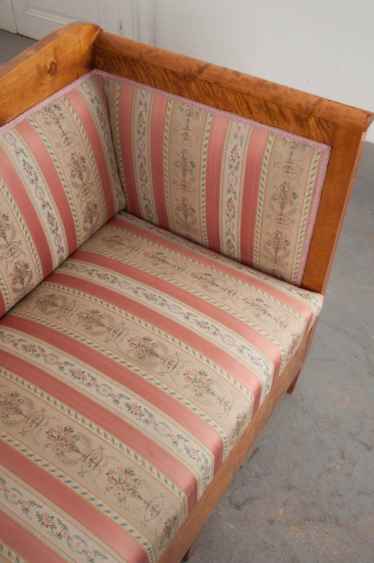 Austro-German 19th Century Biedermeier Sofa For Sale 3