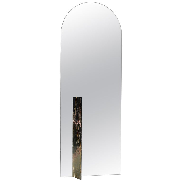 autem stand alone mirror marble and mirrored glass contemporary full length mirror for sale at. Black Bedroom Furniture Sets. Home Design Ideas