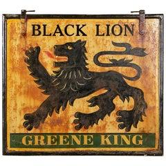 Authentic Antique English Pub Sign