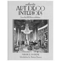 """Authentic Art Deco Interiors,"" from the 1925 Paris Exhibition, Book"