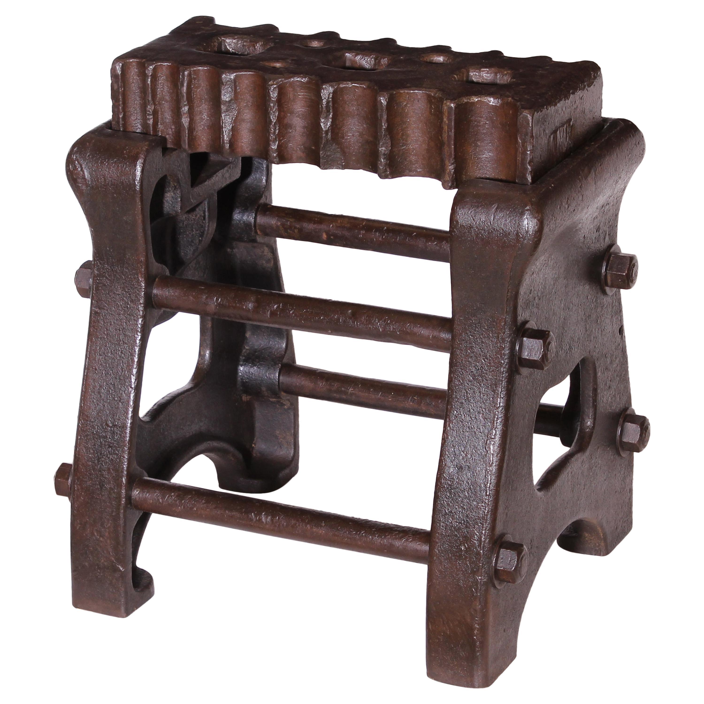 Authentic Blacksmiths Solid Cast-Iron Swage Block
