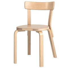 Authentic Chair 69 in Birch by Alvar Aalto & Artek