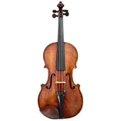Authentic Didlier Nicolas Ainé Mirecourt Violin, 19th Century, France