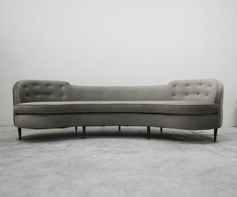 Mid-Century Modern Authentic Early Midcentury Oasis Sofa by Edward Wormley for Dunbar For Sale