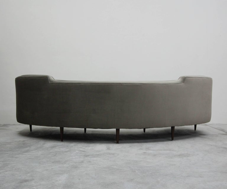 20th Century Authentic Early Midcentury Oasis Sofa by Edward Wormley for Dunbar For Sale
