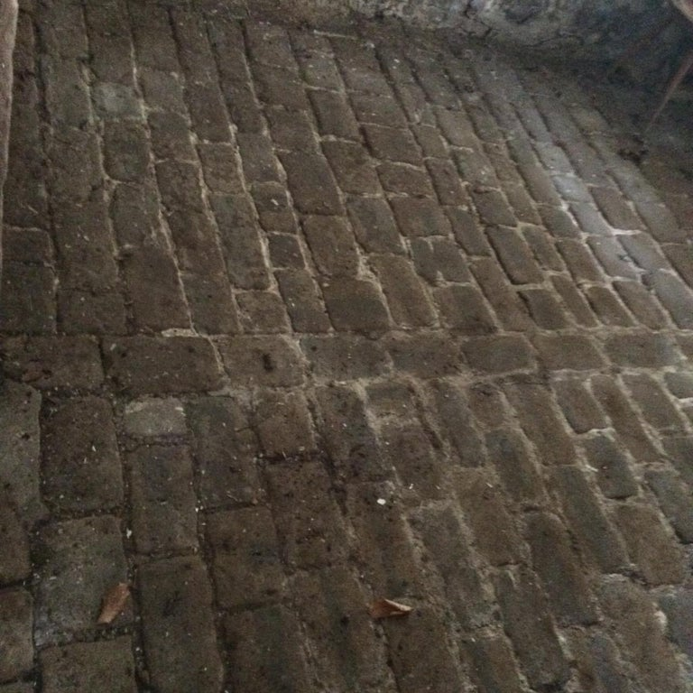 Hand-Crafted Authentic French Antique Cobble Stone from France, 17th Century For Sale