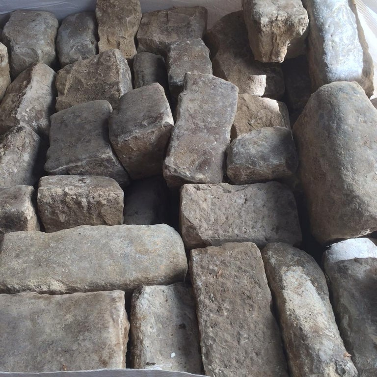 Authentic French Antique Cobble Stone from France, 17th Century For Sale 2
