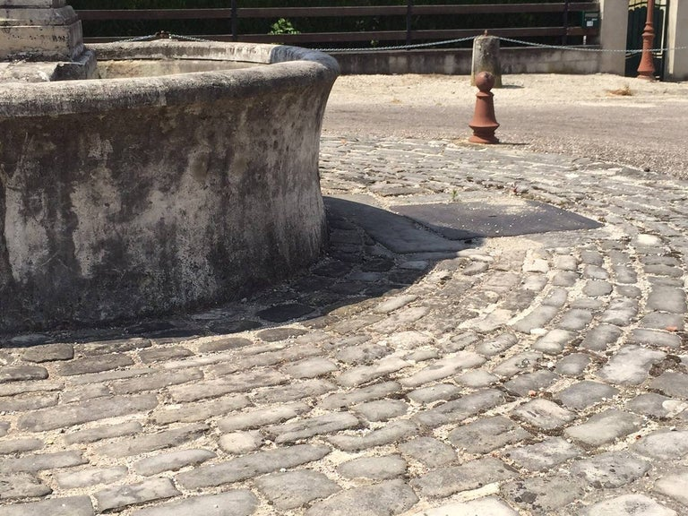 Authentic French Antique Cobblestone 17th Century, Paris, France For Sale 2