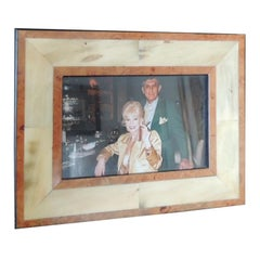 Authentic Gucci Inlaid Wood Picture Frame