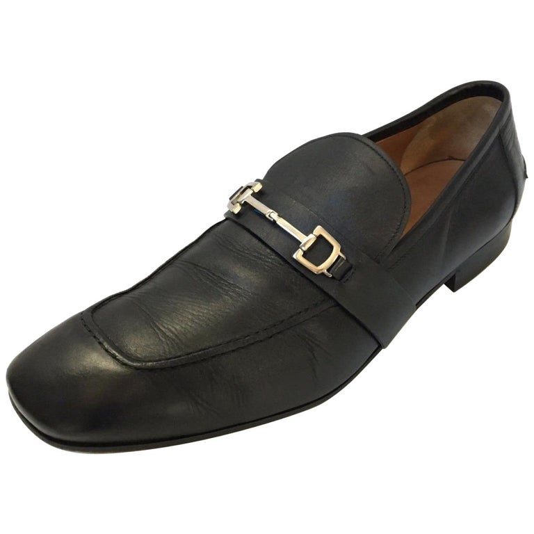 7a0050681b2 Authentic Gucci Mens Horsebit Loafers For Sale at 1stdibs