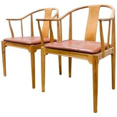 Authentic Hans Wegner 'China' Chairs