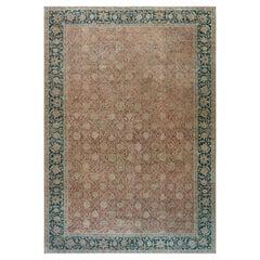 Authentic Indian Botanic Handmade Wool Carpet