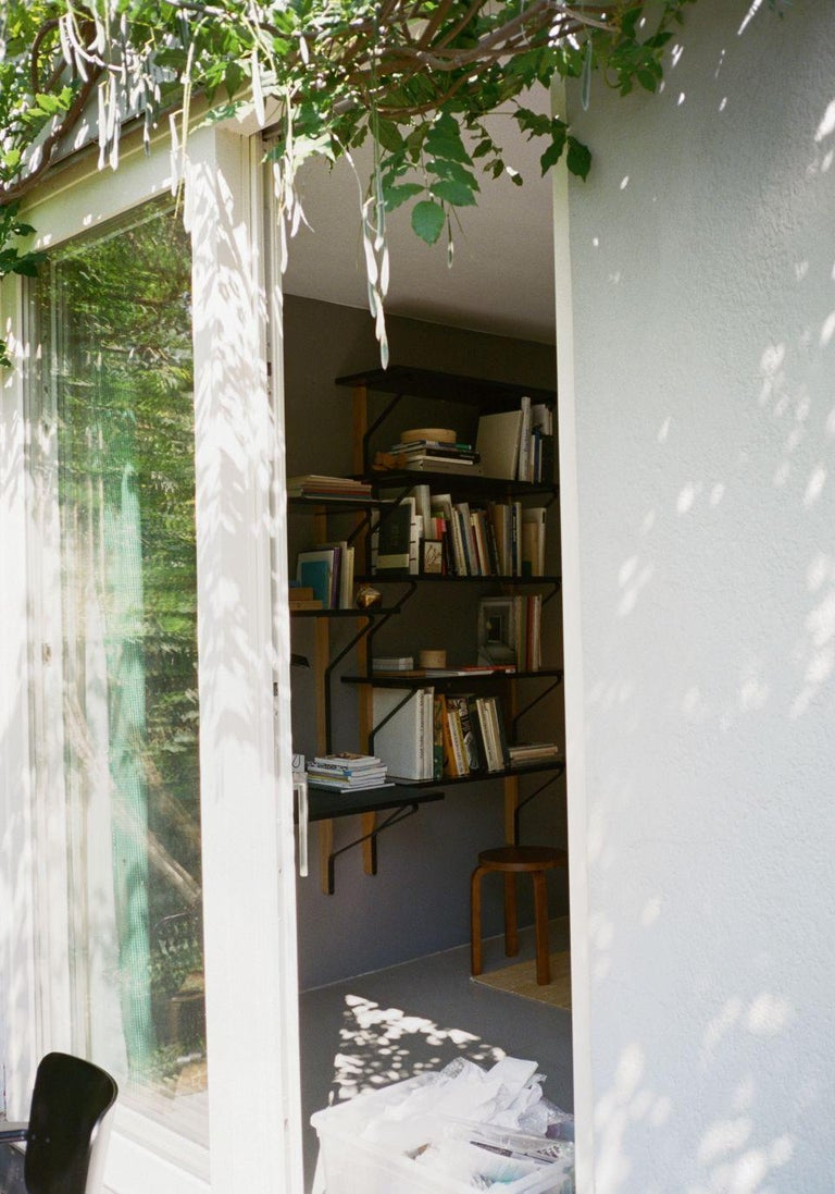 Scandinavian Modern Authentic Kaari Shelf Reb 013 in Natural Oak by Ronan & Erwan Bouroullec & Artek For Sale