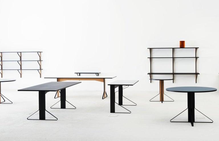 Finnish Authentic Kaari Shelf Reb 013 in Natural Oak by Ronan & Erwan Bouroullec & Artek For Sale