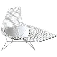 Authentic Knoll Bertoia Asymmetric Chaise