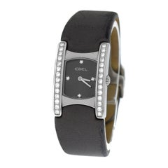 Authentic Ladies Ebel Beluga Steel Diamond Quartz Watch