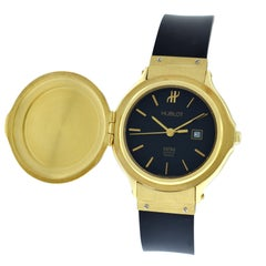 Authentic Ladies Hublot MDM Geneve 18 Karat Yellow Gold Quartz Watch