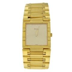 Authentic Ladies Piaget Dancer Solid 18 Karat Yellow Gold 89 GR. Watch
