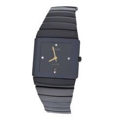 Authentic Ladies Rado Jubile Diastar Diamond Ceramics Quartz Watch