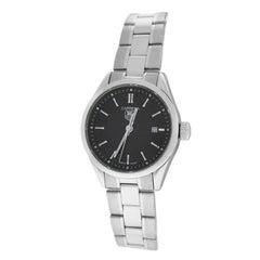 Authentic Ladies TAG Heuer Carrera Steel Date Quartz Watch