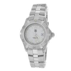 Authentic Ladies TAG Heuer Steel Date 200M Quartz Watch