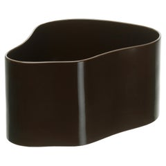 Authentic Large Riihitie Plant Pot A in Brown by Aino Aalto & Artek