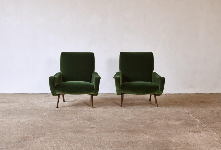 Authentic Marco Zanuso Lady Chairs, Arflex, Italy, 1950s, Newly Reupholstered 4