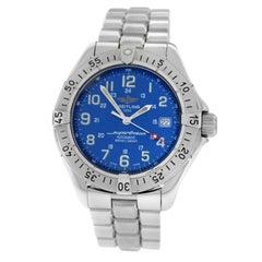 Authentic Men's Breitling SuperOcean Steel Date Automatic Watch