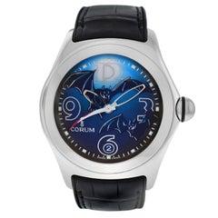Authentic Men's Corum Bubble Limited Edition Bats Steel Automatic Watch