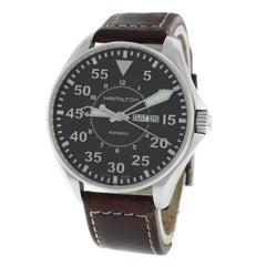 Authentic Men's Hamilton Khaki Aviation Pilot H646110 Quartz Watch