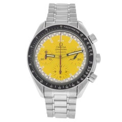 Authentic Men's Omega Speedmaster Racing Schumacher Automatic Watch
