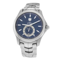 Authentic Men's Tag Heuer Calibre 6 WJF211F Steel Automatic Date Watch