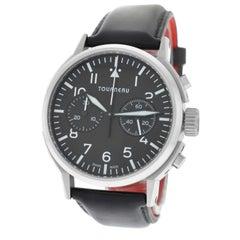 Authentic Men's Tourneau Aviator TNY 400301 Automatic Chronograph Watch