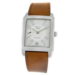 Authentic Men's Zenith Elite Port Royale Steel Date Automatic Watch