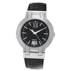 Authentic New Unisex Versace Madison Steel Automatic Watch